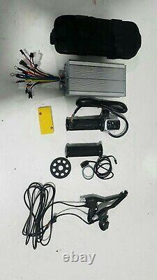 700c wheel 48V 1500w electric bike kit with 250w switch wire, 40A controller