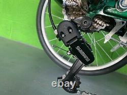 7 Speed Adult Tricycle WHITE Trike 3 Wheel Bike Cruiser +Shopping Basket UK MADE