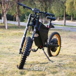 8000with72v Electric Bicycle Scooter Ebike Mountain Bike Super Fast 105km/h