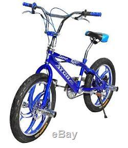 ATCO Brand New 20 BMX Bicycle Bike disc brake 3.0 tyres Aluminium Wheels