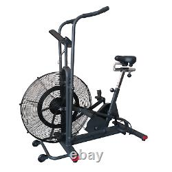 Air Resistance Exercise Bike Adjustable Bluetooth Home Use Cardio Fit4home