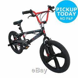 Airwalk 20 Inch Wheels 10 Inch Steel Freestyle Frame BMX Bike Fahrenheit 600
