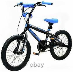 Airwalk Fahrenheit 200 18 Inch Rigid Suspension Children's BMX Bike Black