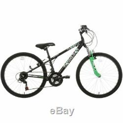 Apollo Gridlok Junior Boys MTB Mountain Bike V Brakes 18 Gears 24 Inch Wheels