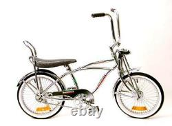 BAJITAS 20 Lowrider Complete With 68 spoke Steel Bike Bicycle chrome