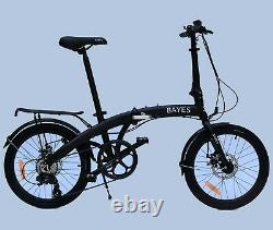 BAYES Alu Faltrad 20 StVZO Scheibenbremsen 8 Gang Shimano Klapprad foldingbike