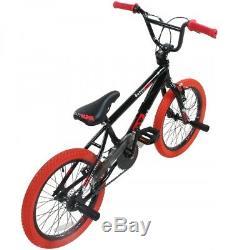 BMX 18 Zoll Fahrrad Freestyle Bike Kinderfahrrad Kind Jugend Rad deTOX