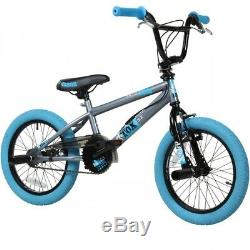 BMX Kinderfahrrad 16 Zoll deTOX Bike Fahrrad Freestyle Kinder Jugend Rad Pegs