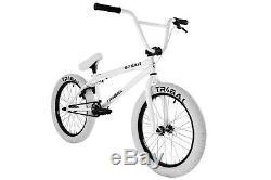 BMX bike Tribal Spear -All White 20 wheel size