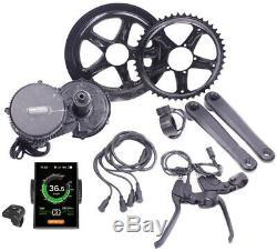 Bafang 48V 750W Mittelmotor E-Bike Umbausatz BBS02 KIT mit DPC18 Farbdisplay