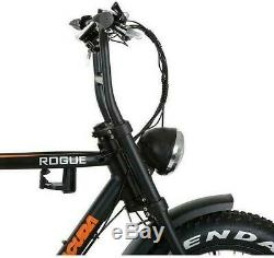 Barracuda Rogue Electric Fat Bike 20 Wheel, Bafang 250W Hub Drive Motor