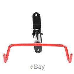 Bike Bicycle Wall Mounted Rack Storage Hanger Holder Hook Folding Space Saver