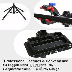 Bike Repair Folding Bicycle Maintenance Station Adjustable Mechanic Repair Stand