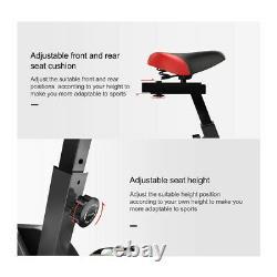Black loefme Exercise Bike Cardio Fitness Training Indoor-10kg Flywheel