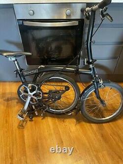 Brompton folding Bike BLACK