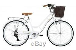 CLASSIC Heritage Ladies 26 Wheel 7 Speed Traditional Bike Bicycle White