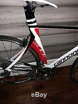 Cannondale slice (54) Triathlon Bicycle! Great Condition