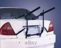 Car & 4x4 Body Boot Mount Fitment 30kg 2 Bike Bicycle Travel Rack Carrier NEW