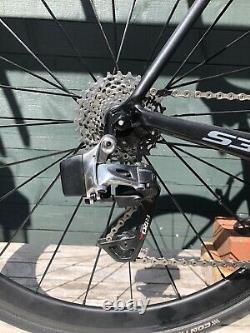 Cervelo S3, Sram Red Etap, Carbon Wheels (56cm)