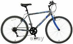 Challenge Conquer 26 Inch Men's Mountain Bike Blue/Black