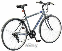 Challenge Dune 27.5 Inch Rigid Suspension Men's Hybrid Bike Grey