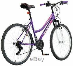 Challenge Spirit 26 Inch Front Suspension Ladies' Mountain Bike Purple