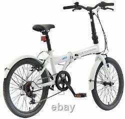 Cross CRF300 20 Inch Rigid Suspension Men's Folding Bike White