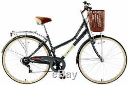 Cross Lady Beth 27.5 Inch Rigid Suspension Ladies' Heritage Hybrid Bike Grey