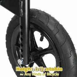 CyclingDeal Adjustable Adult Bicycle Bike Training Wheels Fits 20 to 29