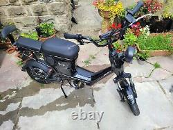Cyclops twin seater electric bike scooter moped ebike 15mph road legal