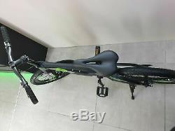 DOUBLE DISC Brake 20 Kids Mountain Bike Green & Black magnesium alloy frame