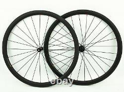 DT Swiss 370 Tubular 38mm Carbon Road Bike Wheelset 11 Speed NEW