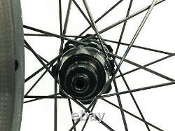 DT Swiss 370 Tubular 50mm Carbon Road Bike Wheelset 11 Speed NEW