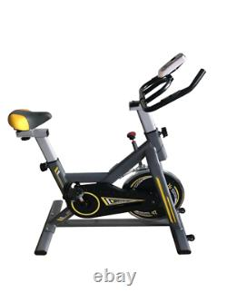 D pro T Sports Exercise Bike Spin Studio Gym Bicycle Cycle Fitness Training