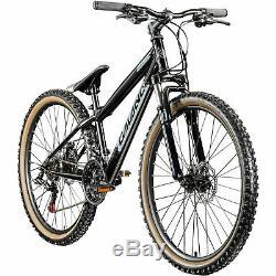 Dirtbike 26 Zoll MTB Galano G600 Mountainbike Fahrrad 18 Gang Dirt Bike Rad