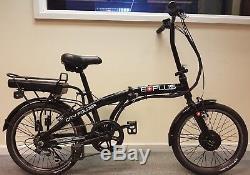 EBike City Folder 24v Electric Bike 20 Black MANUFACTURER REFURBISHED