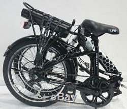 EBike Royale 36v Electric Folding Bike 20 Black MANUFACTURER REFURBISHED