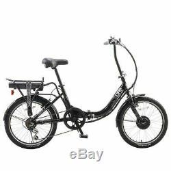 ELife EBike Tourer Black 24V Folding Electric Bike MANUFACTURER REFURBISHED