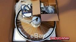E-Bike / Pedelec Vorderrad Umbausatz Kit 250W Watt Front Motor 28 KT3 Display