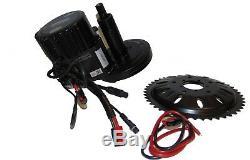 E-Bike Umbau Kit BAFANG G320 BBS03 48V 1000W Mittelmotor Umrüstsatz Farbdisplay