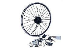 E-Bike Umbausatz 26 8/9/10 Hinterrad RWD 36V 250W Disc Wasserfest IP65 1-Kabel