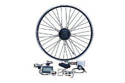 E-Bike Umbausatz 26 Vorderrad FWD 36V 250W Disc +V Wasserfest IP65 1-Kabel