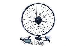 E-Bike Umbausatz 28 6/7 Hinterrad RWD 36V 250W Disc Wasserfest IP65 1-Kabel