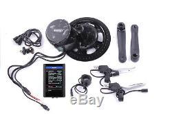 E-Bike Umbausatz BAFANG BBS02 36V 500W Mittelmotor Umrüstsatz Farbdisplay USB