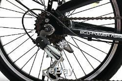 E-plus 20 Inch Folding Electric Bike 14 Inch Steel Frame 6 Gears