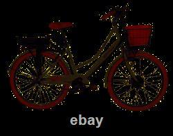 E-Plus Breeze Ladies Step Through Dutch Style Heritage Electric Bike, 26 Wheel