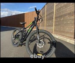 E bike mountain bike, 350W 36V, 2021 Contact Me On 07778888286, Cash Payment