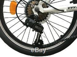 Ecosmo 20 Wheel New Folding Steel Tandem Bicycle Bike 7 Speeds 20TF01W