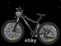 Ecosmo 27.5 Lightweight Alloy Mountain bike bicycle 24 SP Dual Disc -27AM02BL