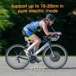 Electric Bicycle E-Bike Motor Front Wheel Conversion Kit Bike Cycling Hub 26